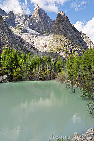 Lago Verde - Green Lake, Courmayeur