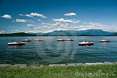 Lago Viverone, Piemonte, Italy