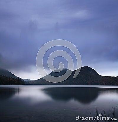 Lagoa de Jordão, parque nacional do Acadia