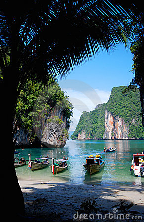 Free Lagoon In Thailand Stock Photos - 3742843