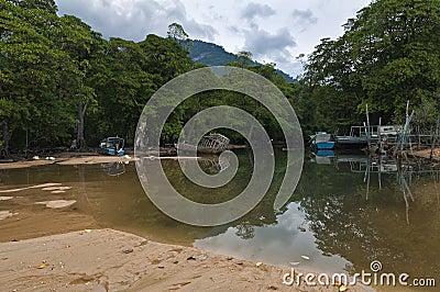 Lagoon island of Tioman