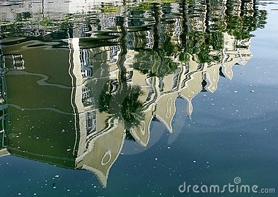 Lagoon reflections
