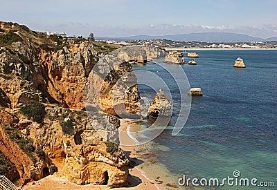 Lagos Coastline Portugal