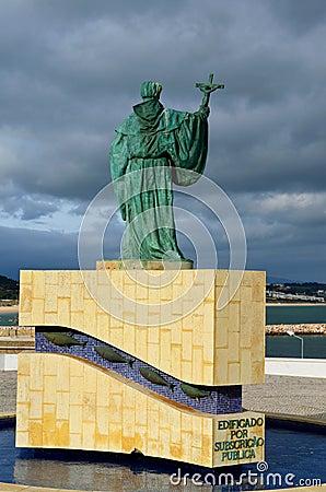 Lagos statue  of Sao Goncalo