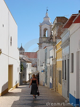 Lagos village, Portugal