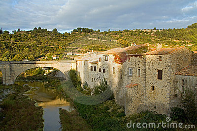 Lagrasse in the Languedoc