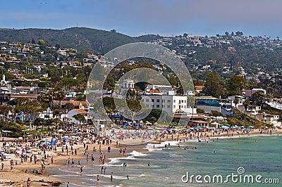Laguna Beach, Kalifornien Redaktionelles Bild - Bild: 15627800  Laguna Beach, K...