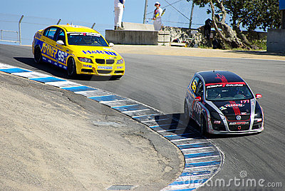 Laguna Seca Editorial Stock Image