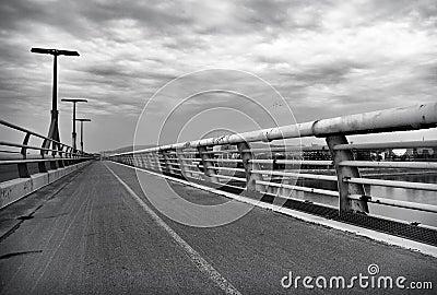 Lagymanyos bridge in Budapest