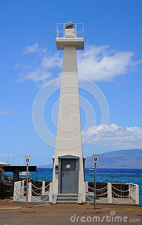 Lahaina Lighthouse Editorial Stock Image