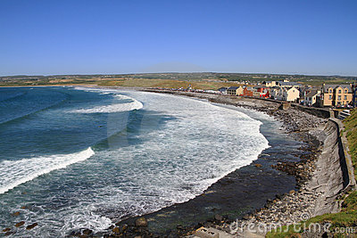 Lahinch beach scenery