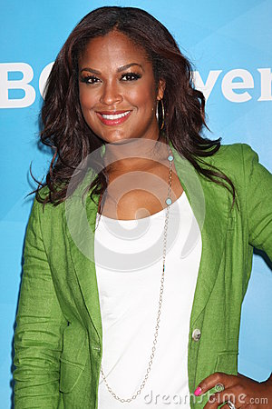 Laila Ali Editorial Stock Photo