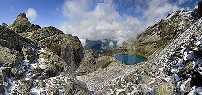 Lake in the Alps - Shottensee