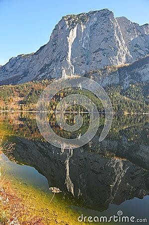 Lake Altaussee in Austria