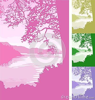 Free Lake Background Stock Photos - 2418103
