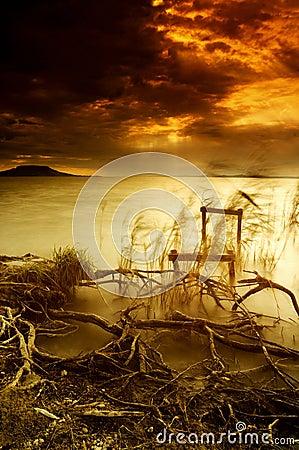 Free Lake Balaton Royalty Free Stock Photos - 5662838