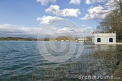 Lake Banyoles, Spain Girona