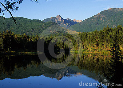 Lake in British Columbia