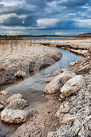 Lake in the Burren