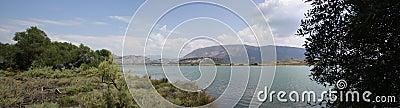 Lake Butrint, Albania Landscape
