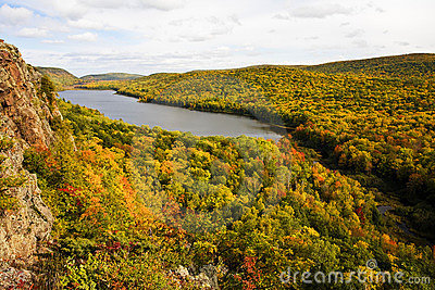 Lake Of The Clouds Autumn Color