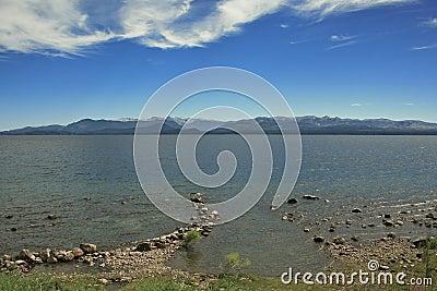 Lake and cloudscape