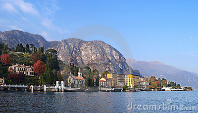 Lake Como from a boat