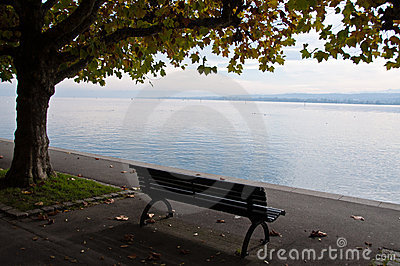 Lake Constance In Fall Royalty Free Stock Image - Image: 16761636