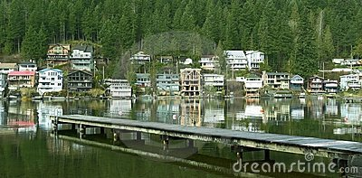Lake Cottages Homes Houses BC