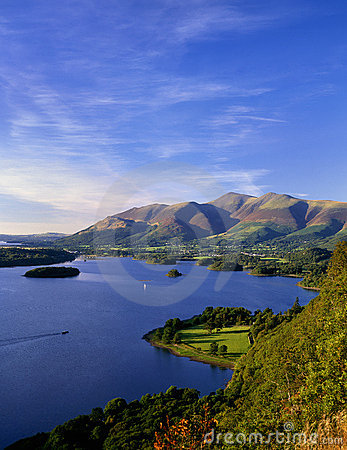 Free Lake District Evening, Derwentwater Stock Images - 22982634