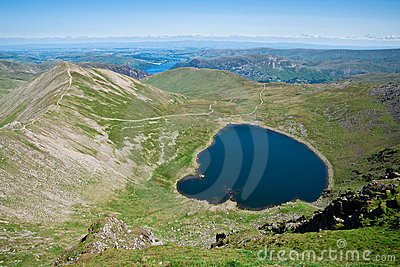 Lake District, View from Helvellyn