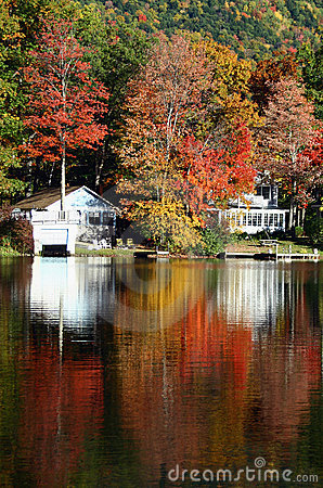 Lake Dunmore in the Fall