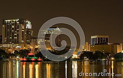 Lake Eola & Skyline Orlando FL