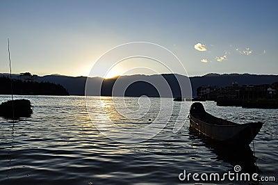 Lake Erhai, Yunnan province, China.