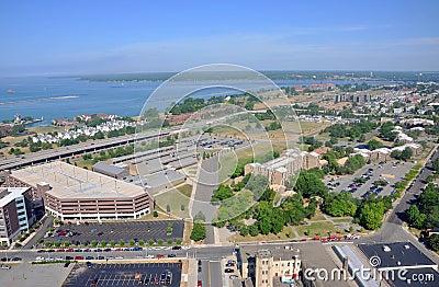 Lake Erie and Buffalo City