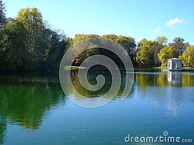 Lake of Fontainebleau