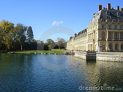 Lake of Fontainebleau