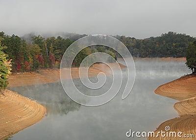 Lake Fontana in The Great Smokey Mountains