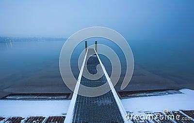 Lake Geneva Boat Pier