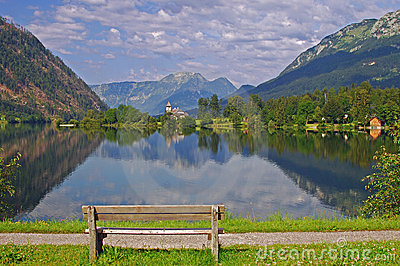 Lake Grundlsee,Austria