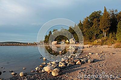 Lake Huron shoreline