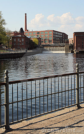 Free Lake In Tampere City Royalty Free Stock Image - 14341956