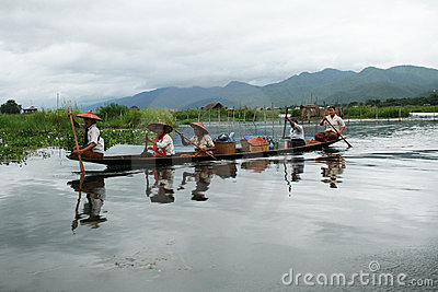 Lake inle Editorial Image