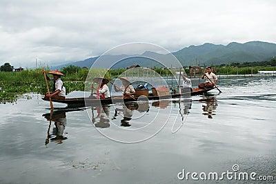 Lake inle Editorial Image