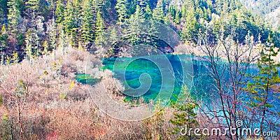 Lake in Jiuzhai Valley 2