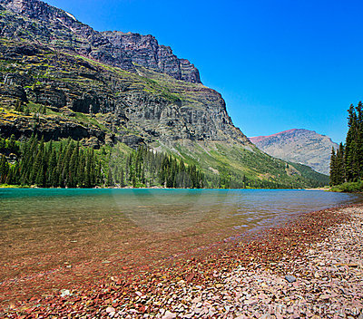 Lake Josephine, Glacier National Park, Montana
