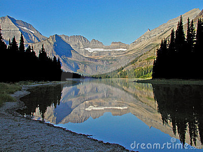 Lake Josephine Reflection