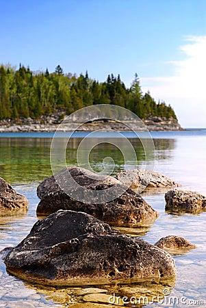Free Lake Landscape Stock Images - 4119504