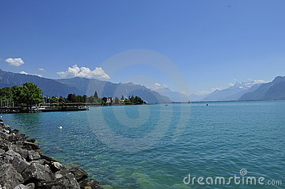 Lake Leman Switzerland