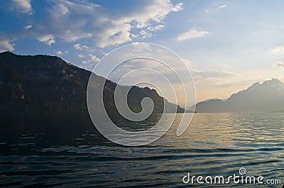 Lake Lucerne scenic
